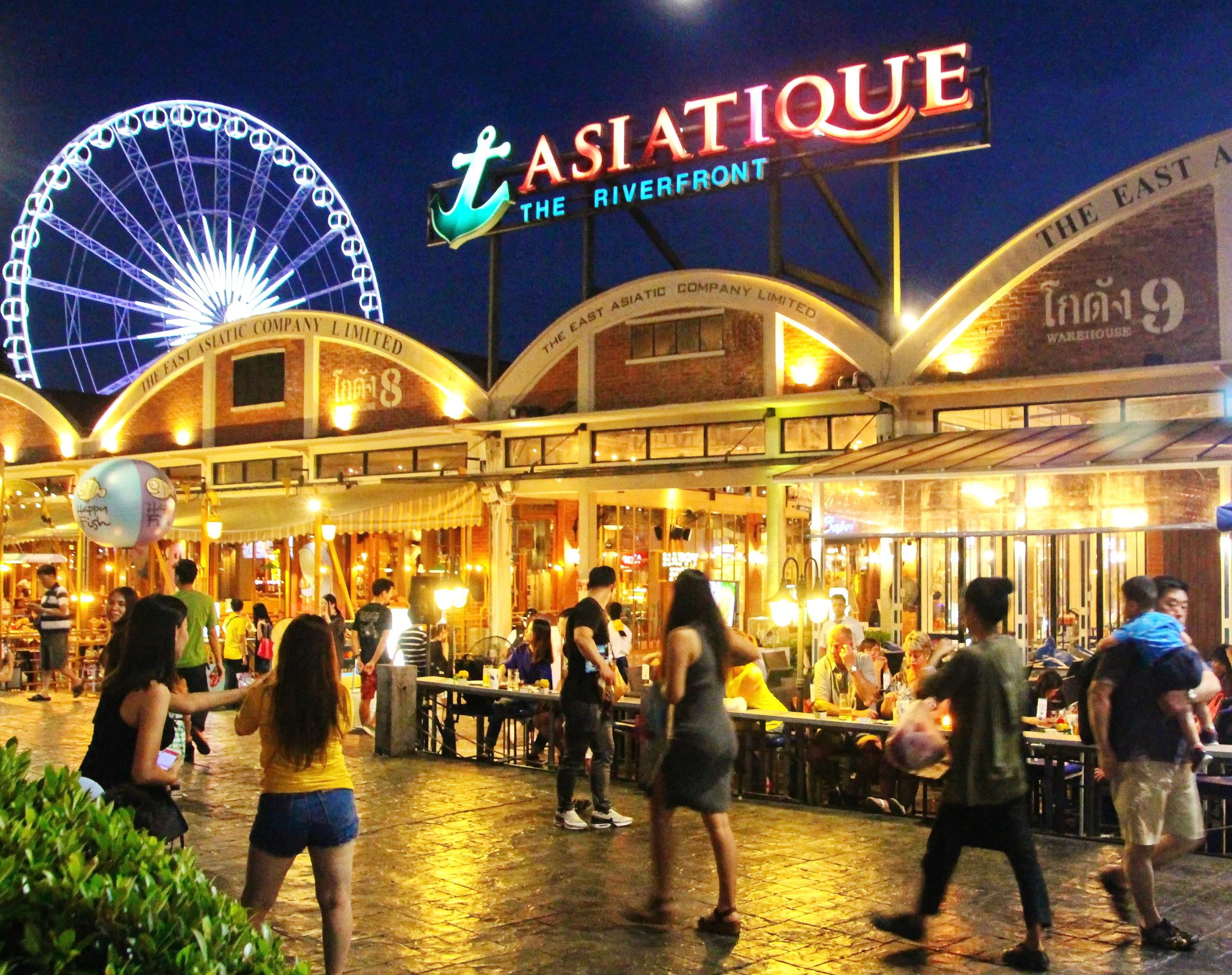 Nattmarked i Bangkok