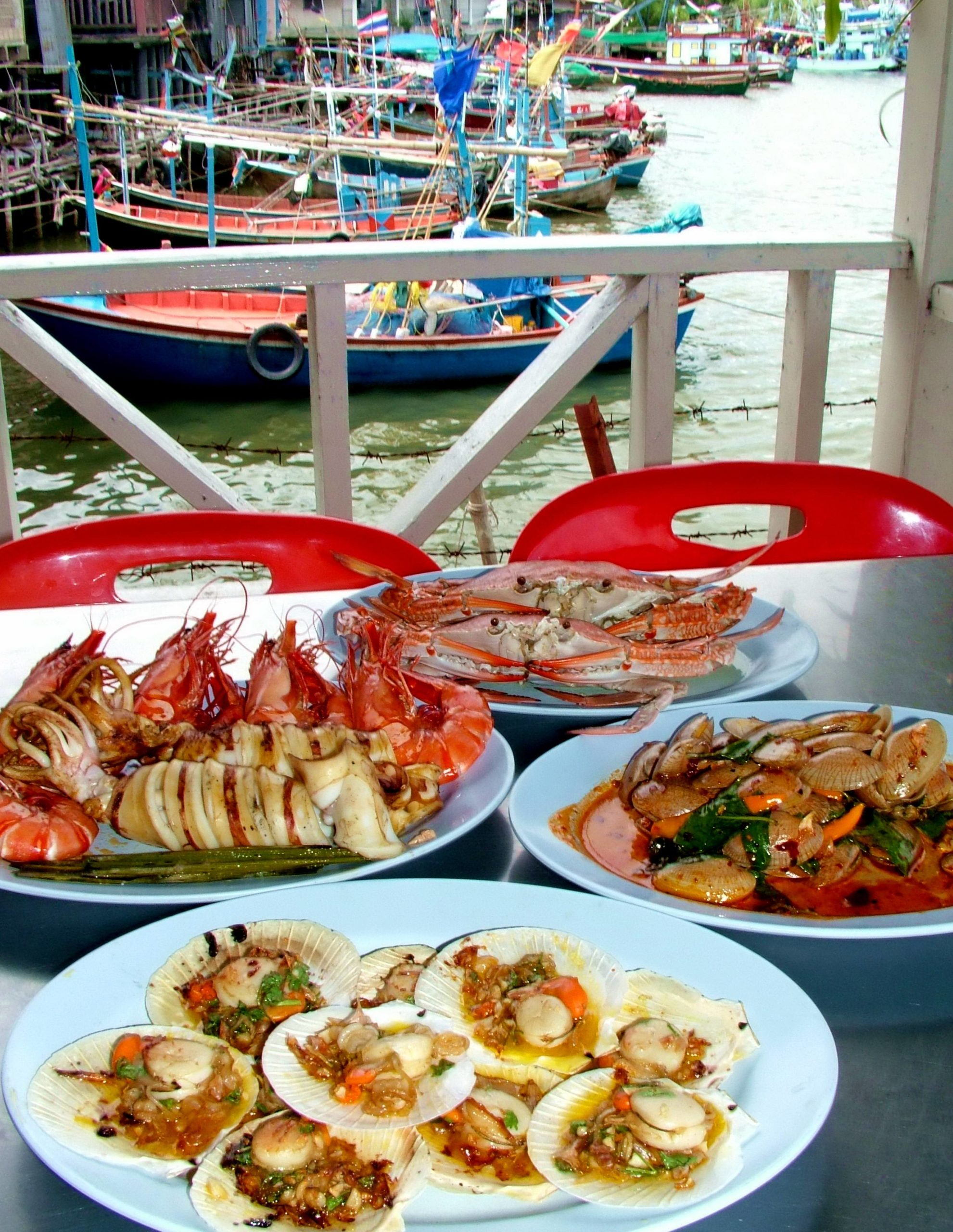 thailandsk sjømat