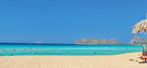 Strand på Kreta