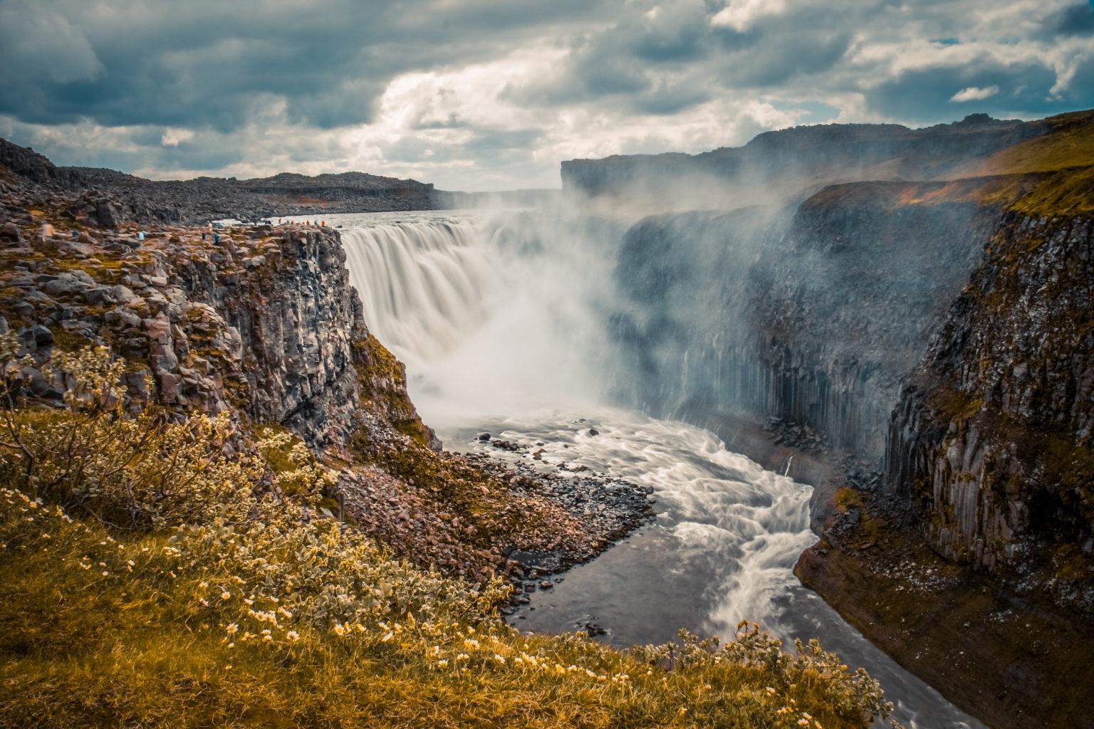 Dettisfoss på Island