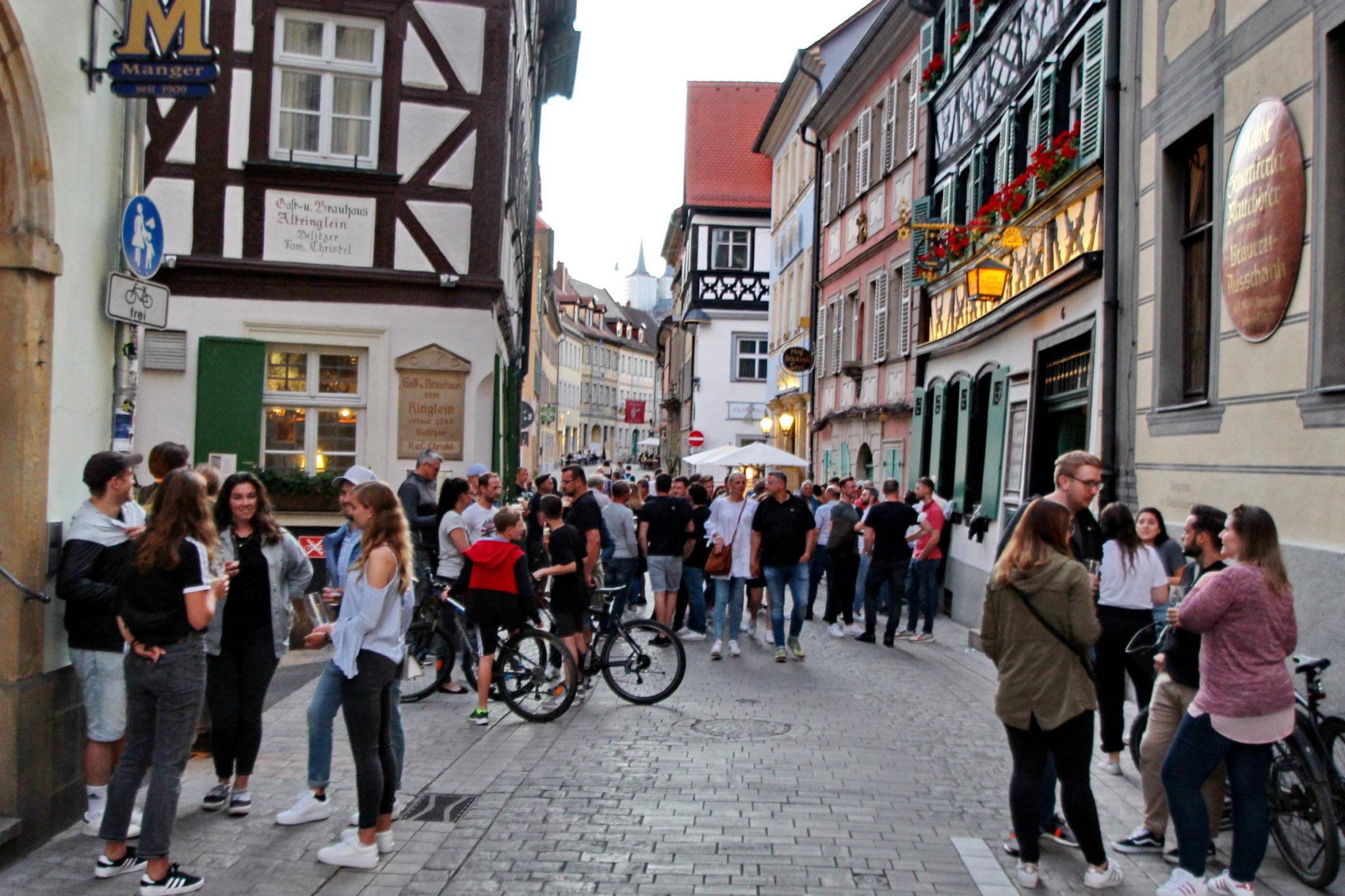 Øldrikkere i Bamberg