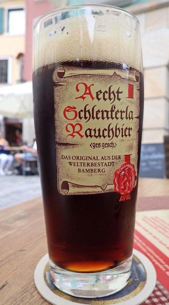 Røkt øl er en spesialitet i Bamberg