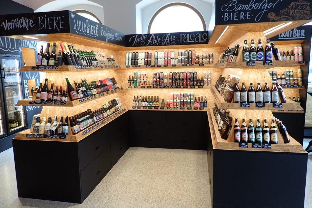 Ølbutikk i Bamberg