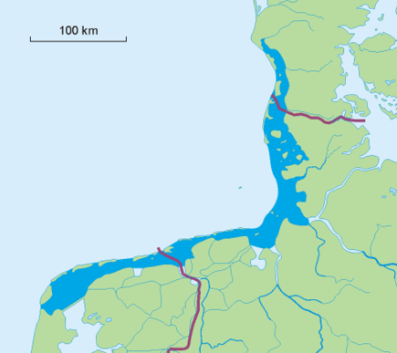Vadethavet er et havområde som legges tørt ved fjære sjø.