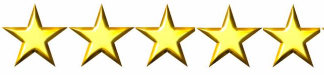 5,0 150 pix høye stjerner til test