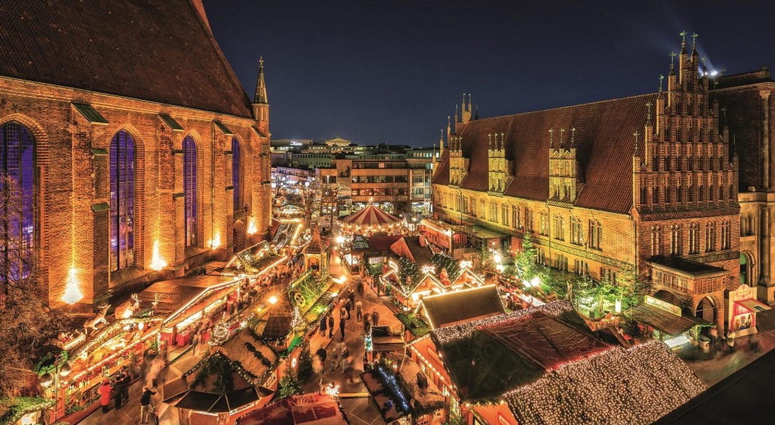 Julemarkedet i Hannover ©HMTG/ Lars Gerhardts